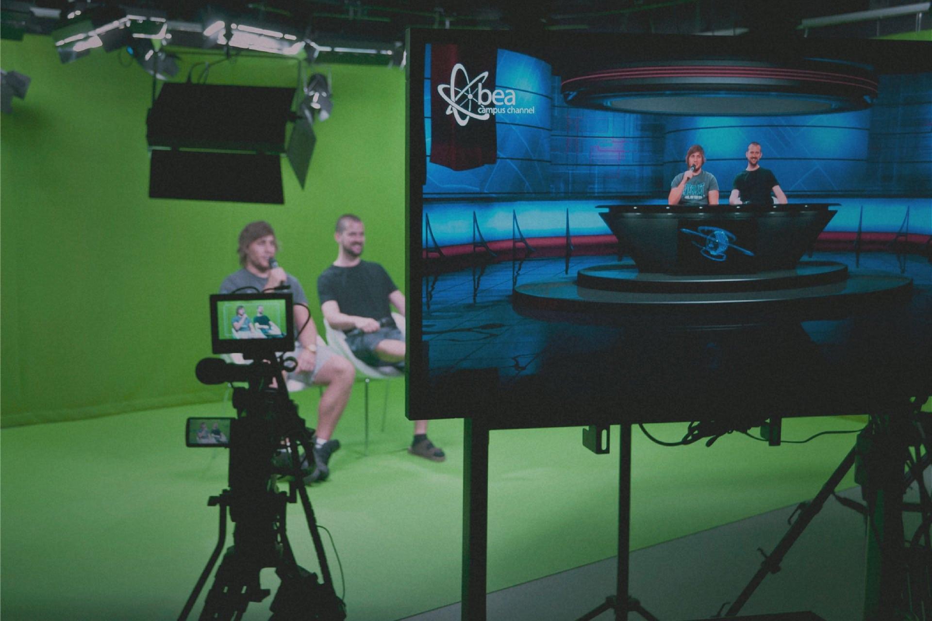 Studio multimediálního centra BEA channel